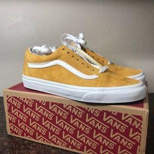 Vans Shoes   Mustard Old Skool Vans